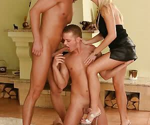 2 bisexual guys and 1 girl