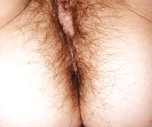 Self shot hairy  set