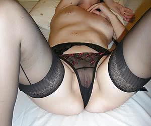 Italian sexy slut lingerie at home images