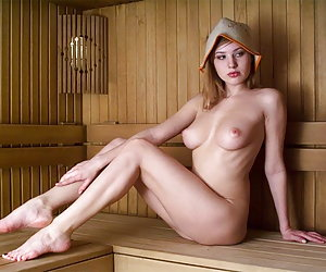 Sauna sex party