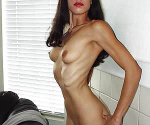 Naked skinny girls collection.