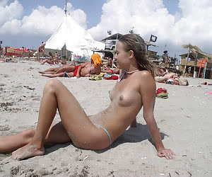Bitch At Beach