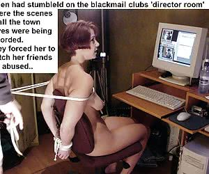 Blackmail Captions